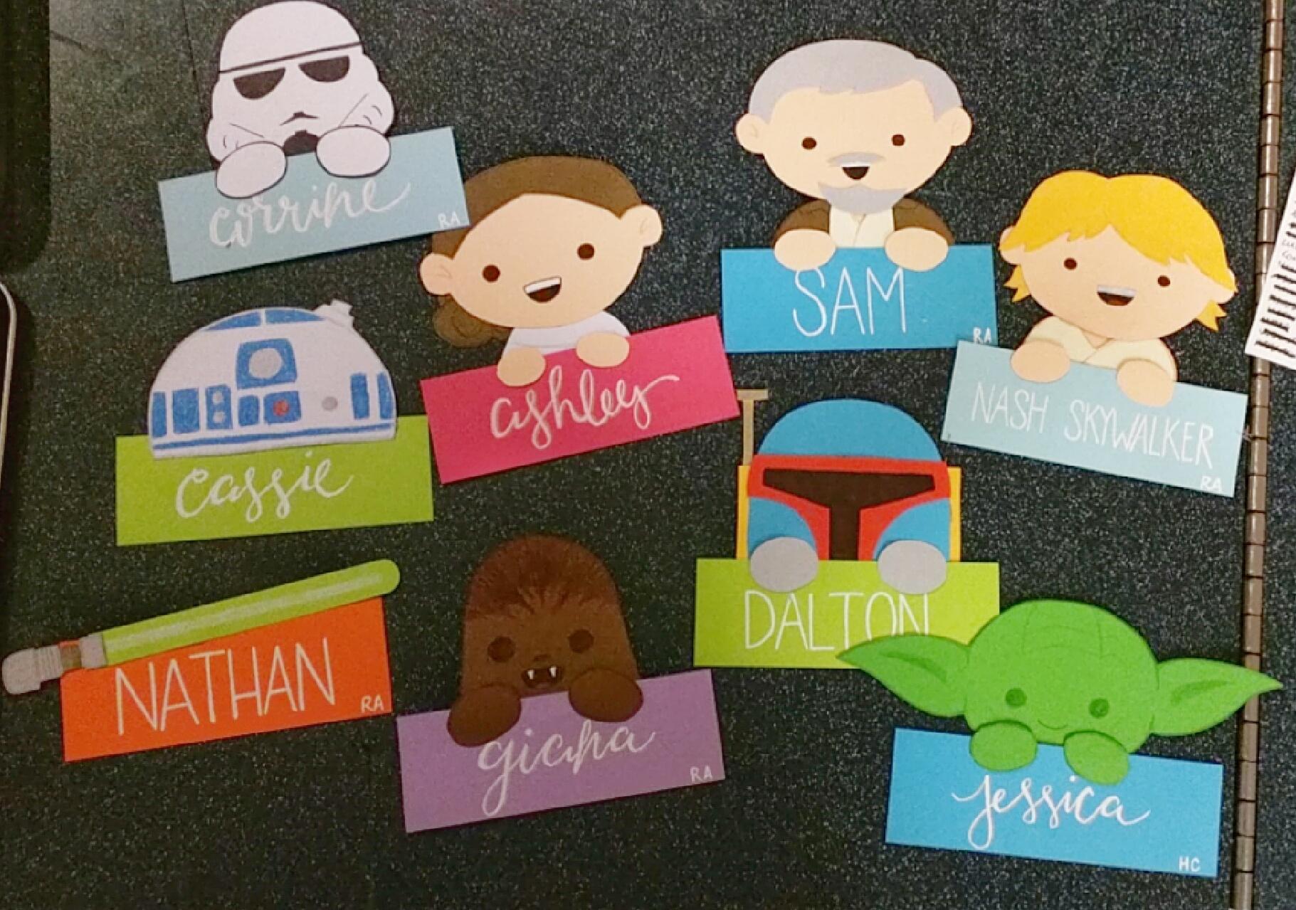 image & Star Wars Door Decs Update \u2013 Statics and Stationery Pezcame.Com